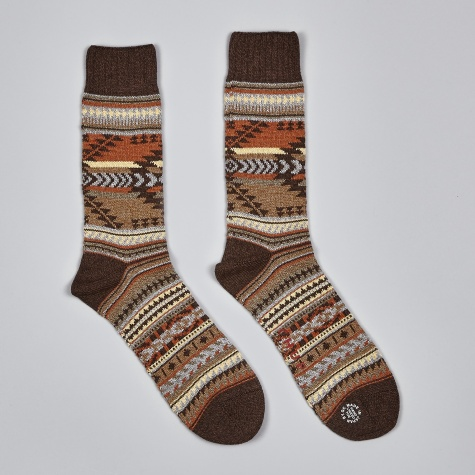 Katsina Socks - Chocolate