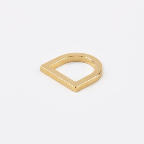 COSMIC Ring Shield - 18K Gold Plated