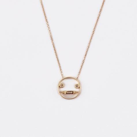 Lei Pendant Necklace - 9K Yellow Gold