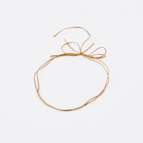 Wish Gold Bracelet - Yellow