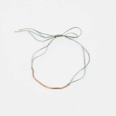 Wish Gold Bracelet - Green