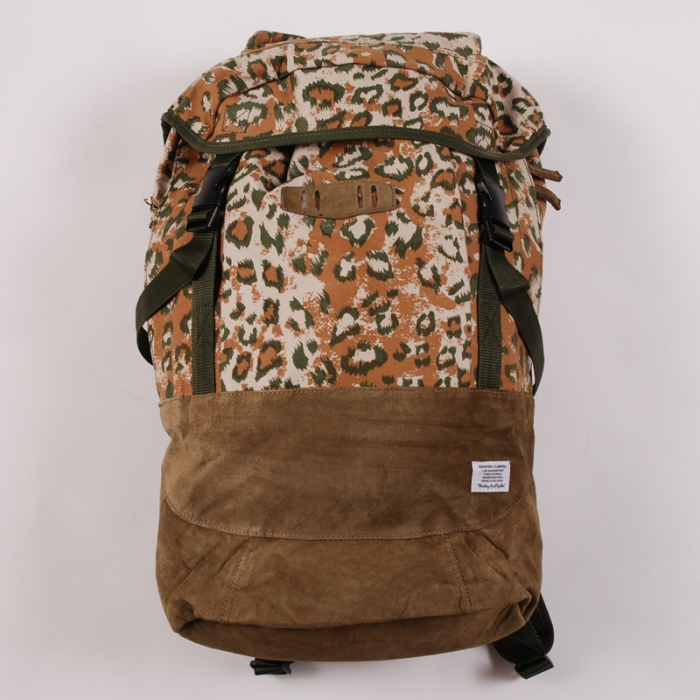 Goodhood x R. Newbold Backpack - Camo (Image 1)