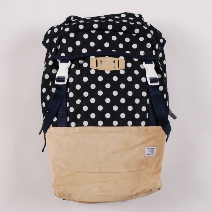 Goodhood x R. Newbold Backpack - Denim Spot (Image 1)