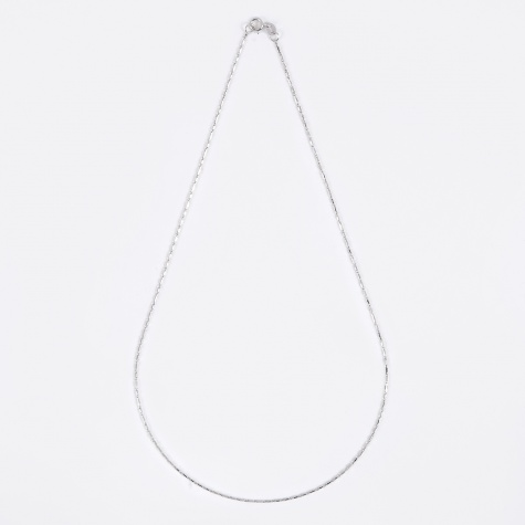 Grovel Necklace - 10K White Gold