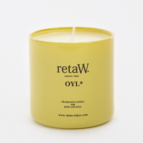 Fragrance Candle - Oyl*