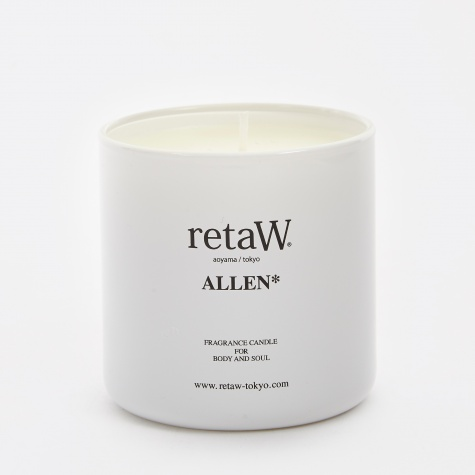 Fragrance Candle - Allen* WHITE