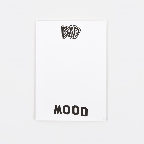 Screenprinted Poster - Bad Mood