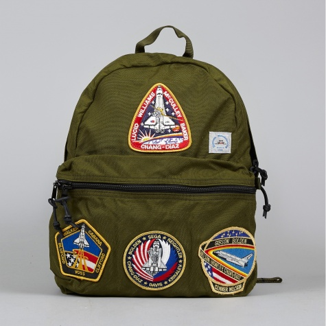 Mountaineering Day Pack w/ Vintage NASA Patch - Moss