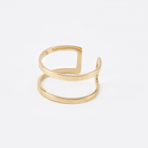 Cage Ring - 10K Gold