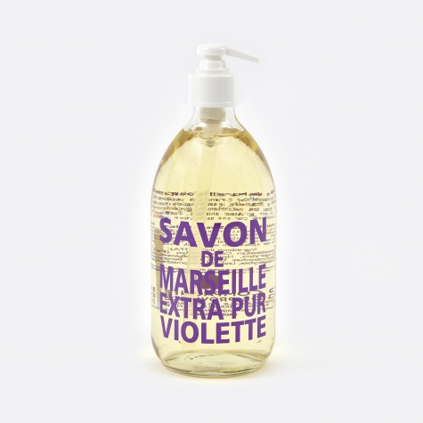Liquid Marseille Soap 500ml - Sweet Violet