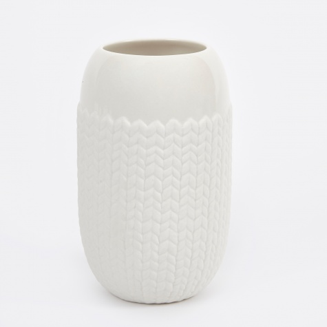Couture Flower Vase - Large Knit