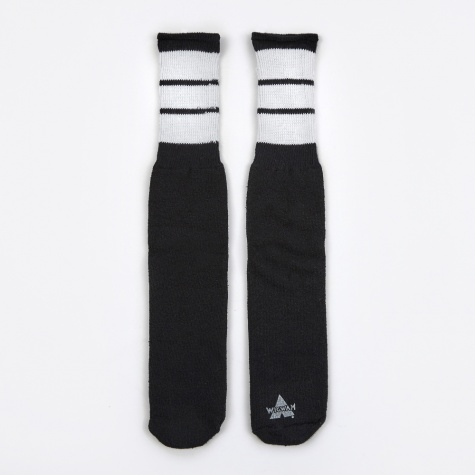 King Tube Socks - Black/White