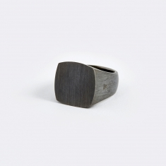 Tom Wood Cushion Ring - Black Edition