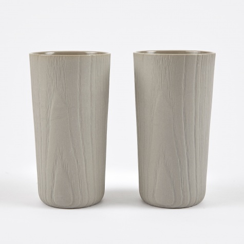 Toast MU Water Cup Pair - Grey