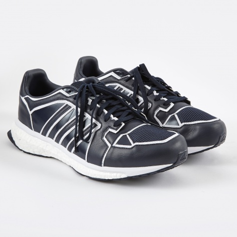x White Mountaineering Energy Boost - Navy/White