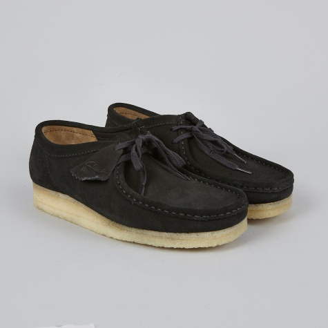 Clarks Wallabee - Black/Natural