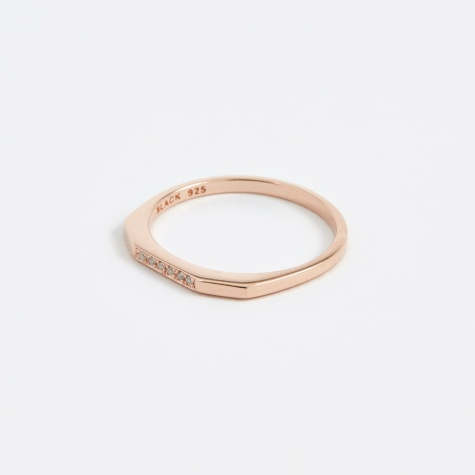Le Witt Diamond Ring - Rose Gold