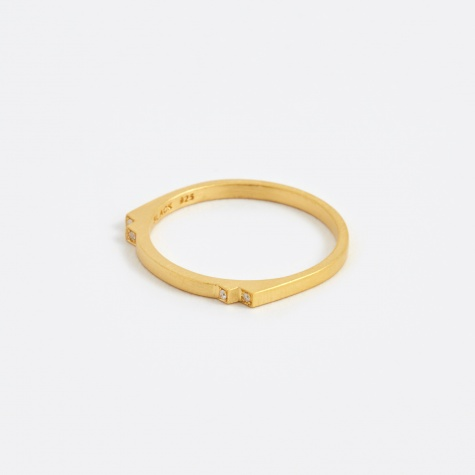 Serra Diamond Ring - Gold