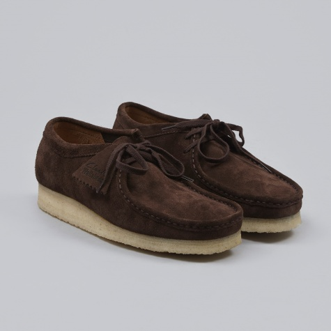 Clarks Wallabee - Dark Brown Suede