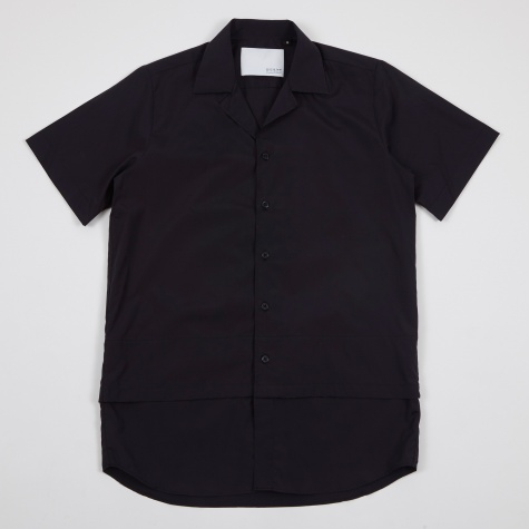 Hunter Unstructured Box Fit SS Shirt - Navy