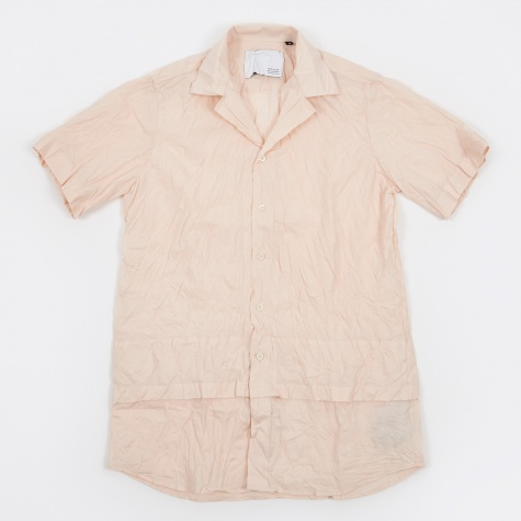 Hunter Unstructured Box Fit SS Shirt - Antique Wh