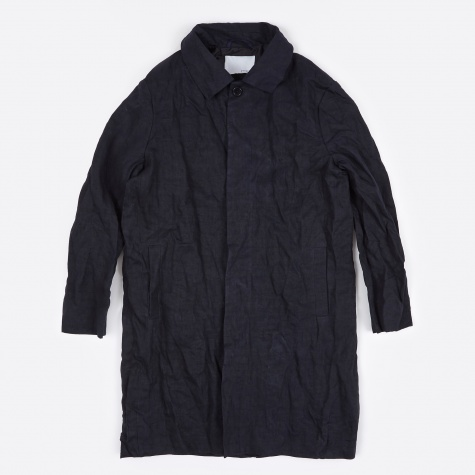 Rane Idaho Crushed Lined Rain Jacket - Navy