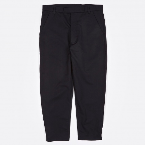 Marlboro Cropped Trouser - Navy