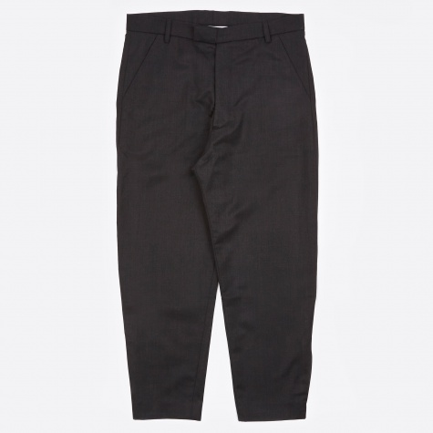 Marlboro Cropped Trouser - Charcoal