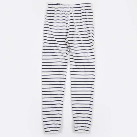 Marine Striped Sweat Pant - Marine Stripe