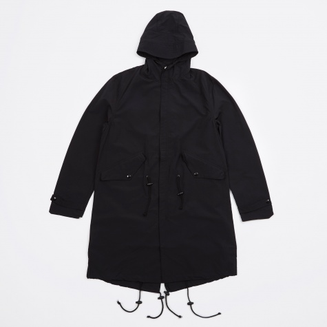 Hand Painted Mods Parka - Black