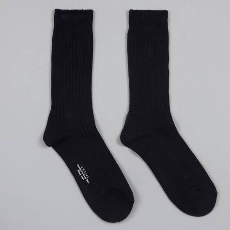 Cotton Socks - Navy