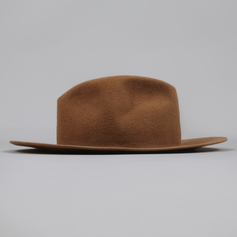 Rabbit Fur Hat - Camel