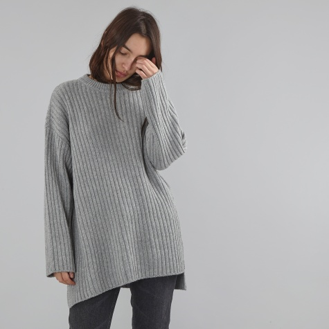 Long Knit - Grey