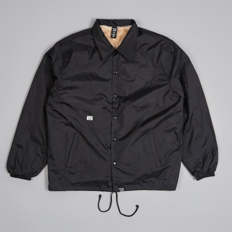 Prospective Fur Lining Windbreaker - Black