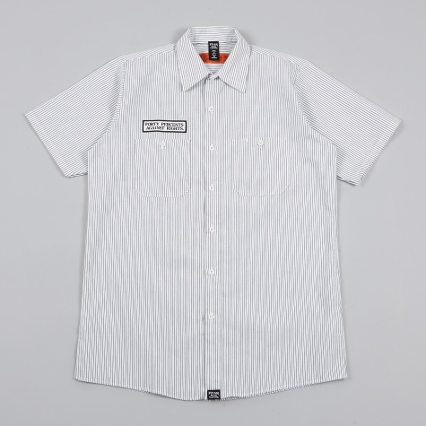 GA SS Work Shirt - White
