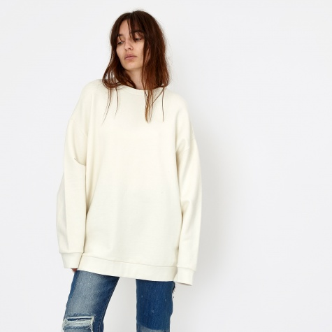 Can Pep Ray Sweater - Whisper White