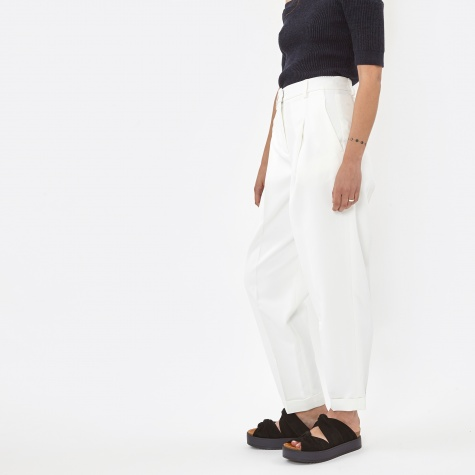 Pant With Ankle Cuff - Chalk ( P2642084ZB)