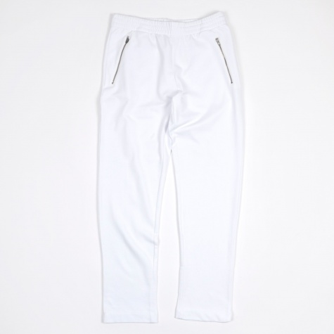 Zip Sweatpant - White
