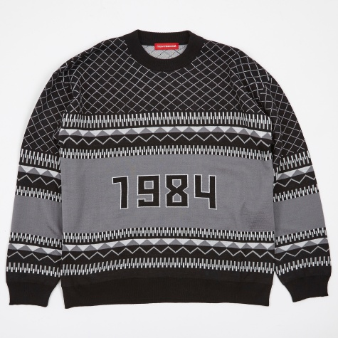 1984 Wool Sweater - Black