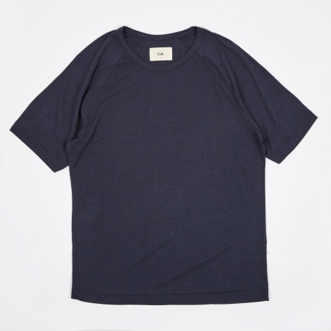 Nep Tee - Softer Navy