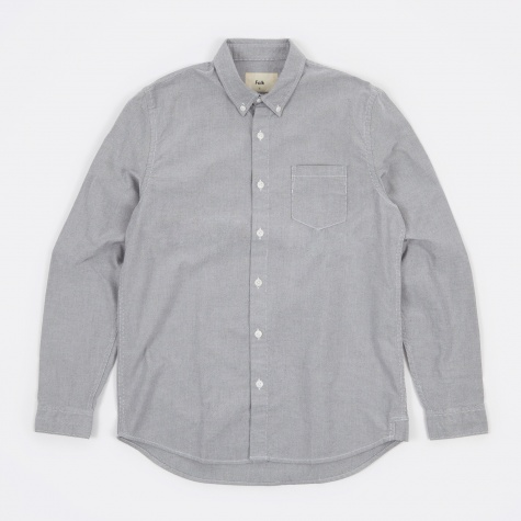 Button Down Shirt - Grey Oxford