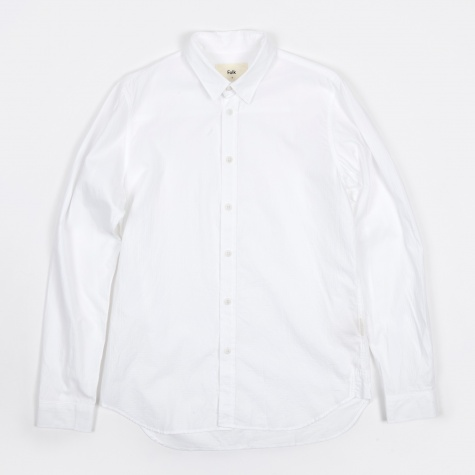 Smart Shirt - White Check