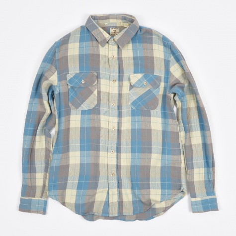 Shorthorn Shirt - Blue Check