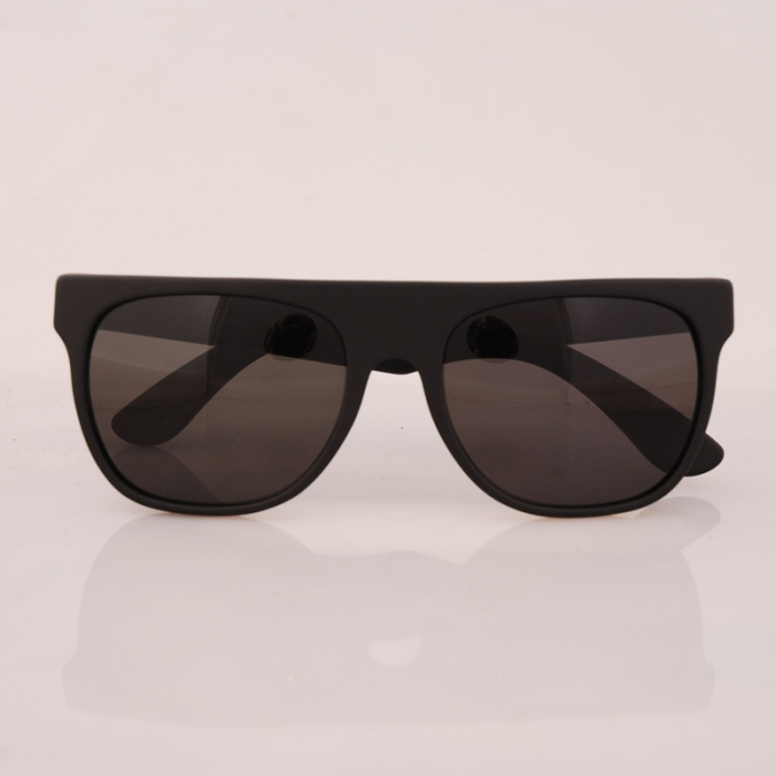 Super Sunglasses Flat Top Matte Black Super Flat Top Mat Black