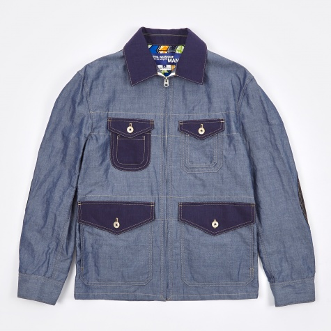 Chambray Jacket - Blue