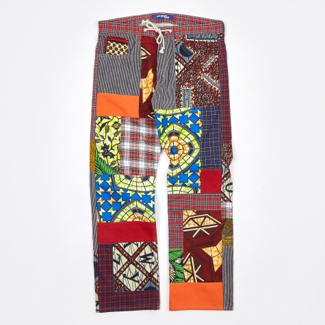 Patchwork Pants - Mix