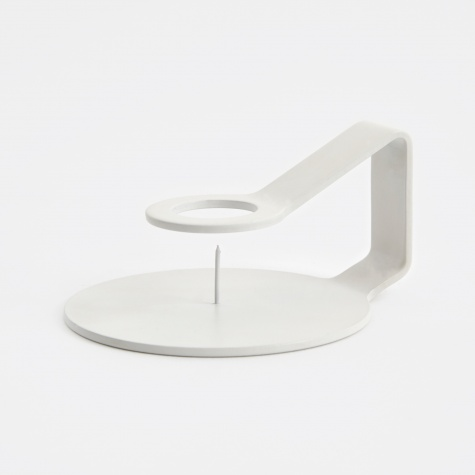Nocto Candle Holder - White