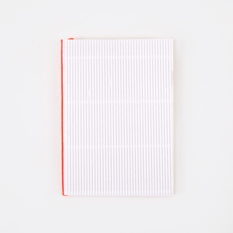 Corrugated Notebook A6 - White