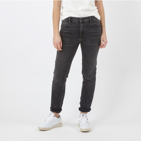 Relaxed Fit Denim - Grey Aged