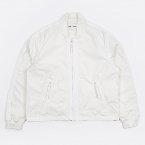 Force Bomber - White Cotton